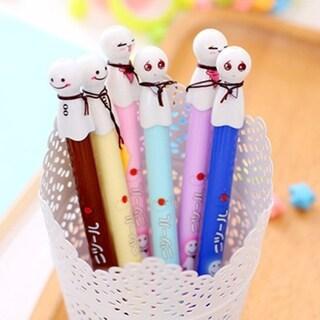 0.38MM Black Ink Lovely Sunny Doll Plastic Pens Kawaii Student Stationery Pen