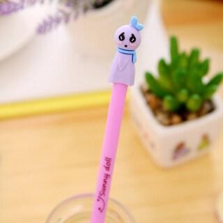 0.38MM Cartoon Lovely Sunny Doll Pen Black Ink Pen Ballpoint Pen Stationery