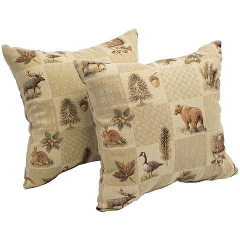 Pine Lodge 17-inch Accent Throw Pillow (Set of 2)