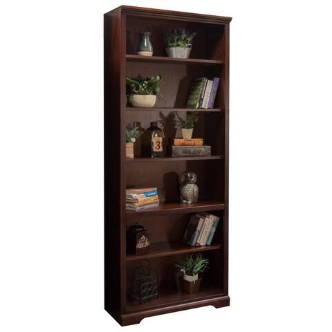 Copper Grove Moule Cherry 84-inch Bookcase