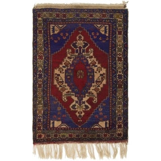 Hand Knotted Anatolian Wool Area Rug - 3' 6 x 5' 4