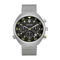 Bulova Men's 96B236 Accutron II Snorkel Chrono Mesh Bracelet Watch