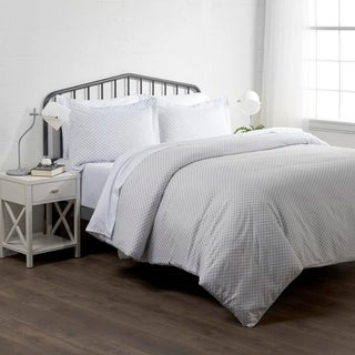 Merit Linens Premium Ultra Soft Polaris Pattern 3 Piece Duvet Cover Set