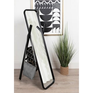 Kate and Laurel Loki Wooden Standing Ladder Mirror - 16x58