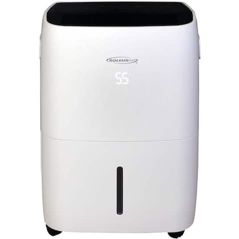 Soleus 70 Pint Dehumidifier with Built-In Pump and WiFi Control