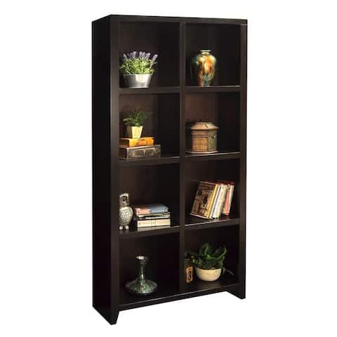 Copper Grove Deuil Mocha 8-cubicle Bookcase