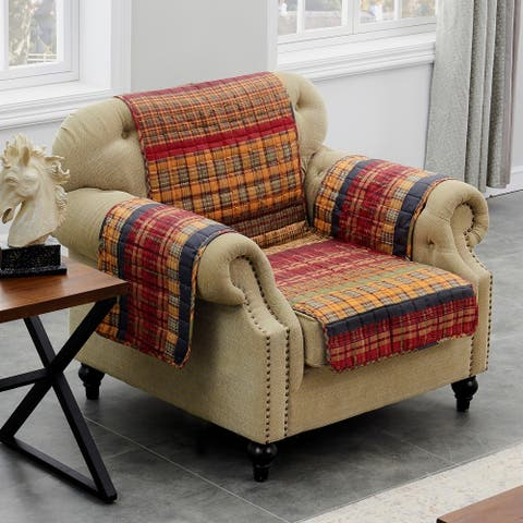 Barefoot Bungalow Gold Rush Armchair Protector