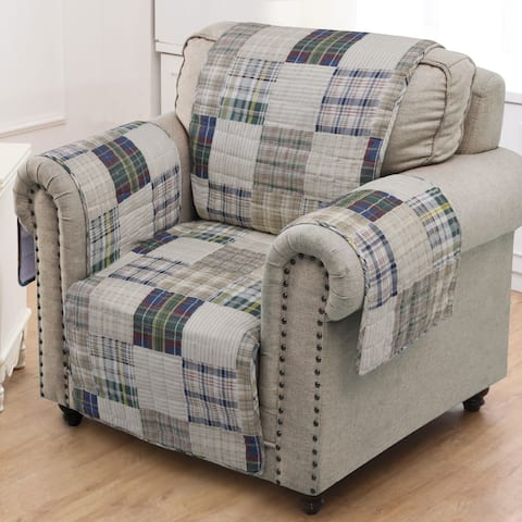Greenland Home Oxford Armchair Protector