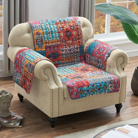 Barefoot Bungalow Indie Spice Armchair Protector