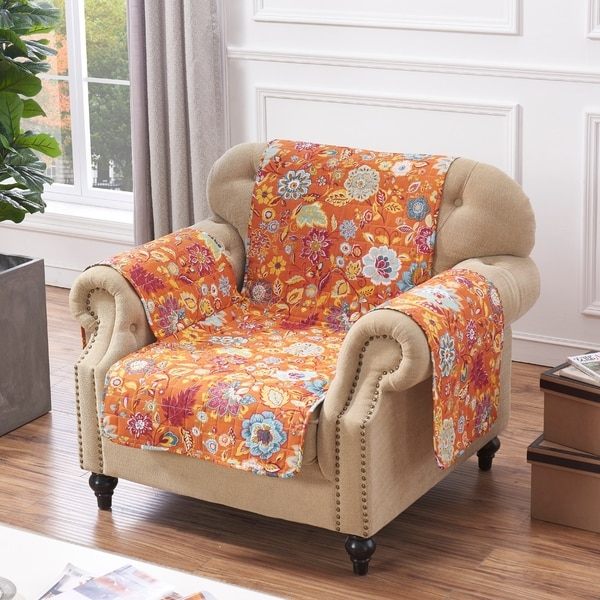 Greenland Home Astoria Spice Armchair Protector