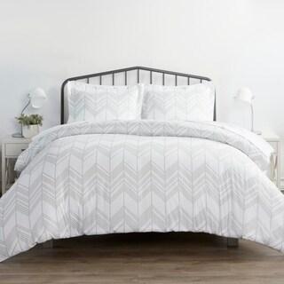 Link to Merit Linens Premium Ultra Soft Alps Chevron Pattern 3 Piece Duvet Cover Set Similar Items in Duvet Covers & Sets