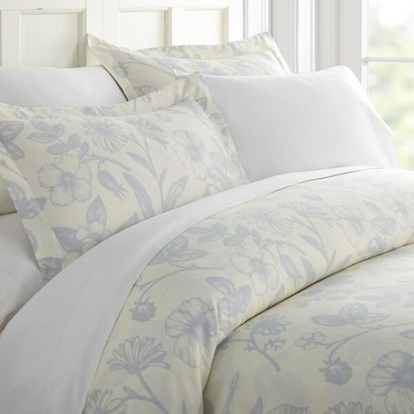 Merit Linens Premium Ultra Soft Garden Pattern 3 Piece Duvet Cover Set