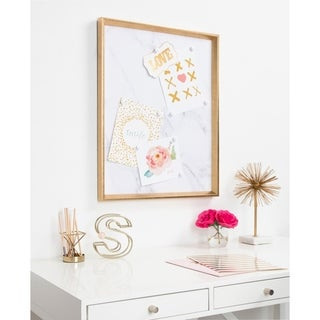 Kate and Laurel Calter Framed Magnetic Printed Canvas - 21.5x27.5
