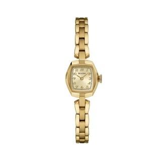 Bulova Women's 97L155 Goldtone Bracelet Watch