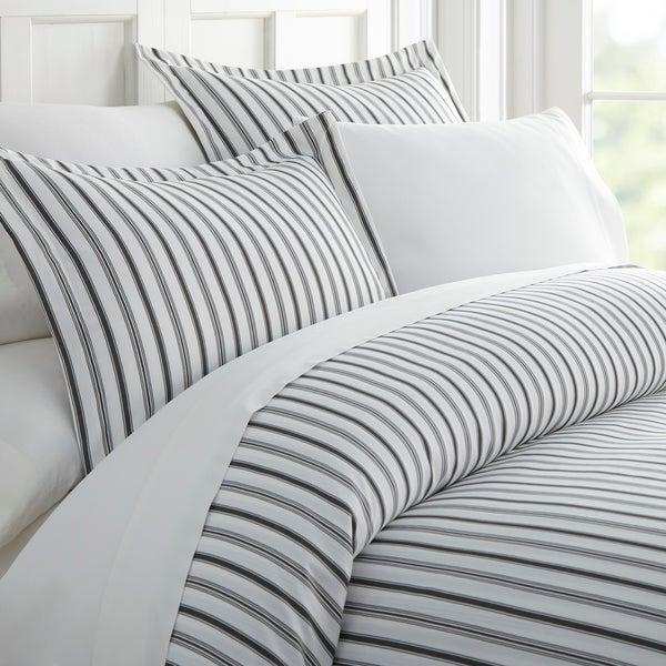 Merit Linens Premium Ultra Soft Vertical Dreams Pattern 3 Piece Duvet Cover Set