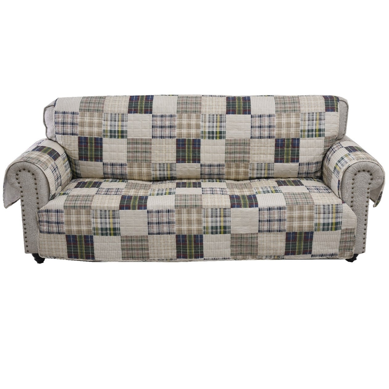 Peachy Plaid Slipcovers Furniture Covers Find Great Home Decor Andrewgaddart Wooden Chair Designs For Living Room Andrewgaddartcom