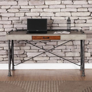 Carbon Loft Masekela Steampunk 56-inch Chestnut Writing Desk