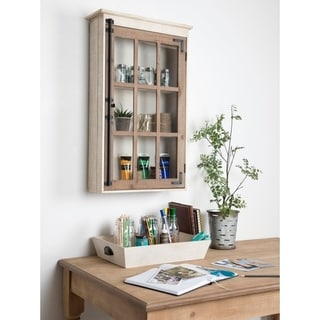 Kate and Laurel Hutchins Wood Wall Cabinet