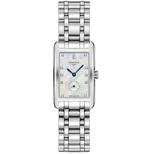 Longines Women's L55124876 'Flagship' Diamond Stainless Steel Watch
