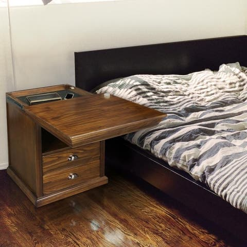 Lincoln Nightstand with Concealed Compartment, Concealment Furniture