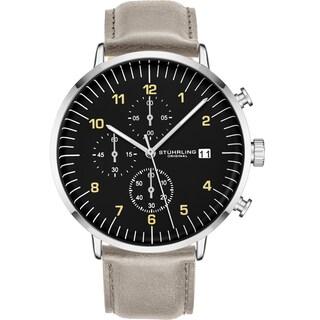 Stuhrling Original Monaco Essex 3911L Chronograph Men's Watch