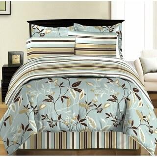 Bed In A Bag/8pcs-250GSMF-PVISC/PR-Dbl/Full-Na-Akemi-MALLIBU CL