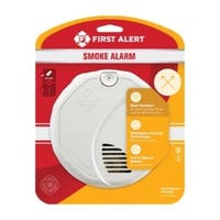 First Alert  Battery  Ionization / Photoelectric Sensor  Smoke Alarm