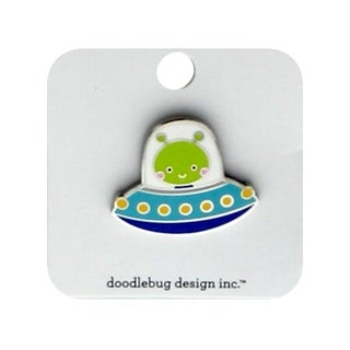 Doodlebug So Much Pun Collectible Pin Alien