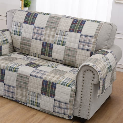 Greenland Home Oxford Loveseat Protector