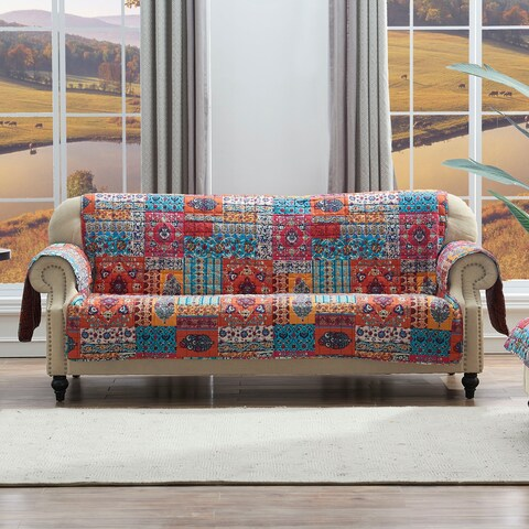 Barefoot Bungalow Indie Spice Sofa Protector