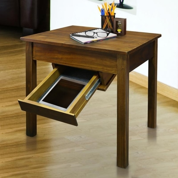 Slate Coffee Table With Drawers: Shop Kennedy End Table With Concealed Drawer, Concealment