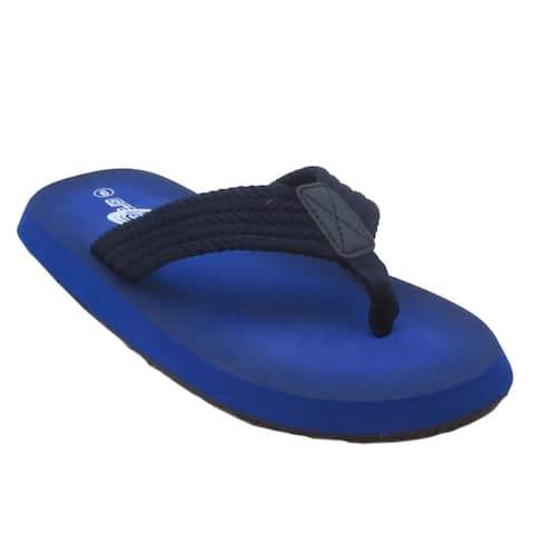 BLUE Men's M-Cobad Slip on Flip Flops Summer Sandals