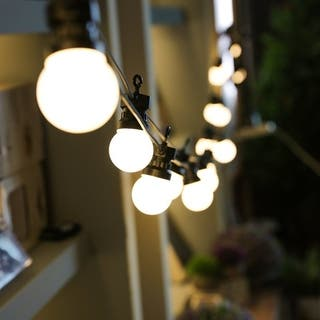 Buy Outdoor String Lights Online at Overstock.com | Our Best Outdoor on