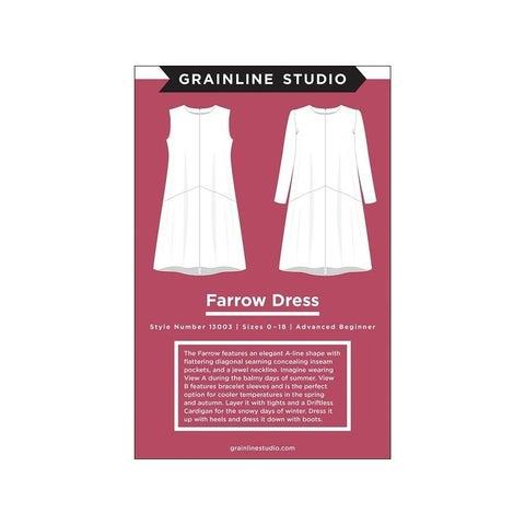 Grainline Studio Farrow Dress Ptrn