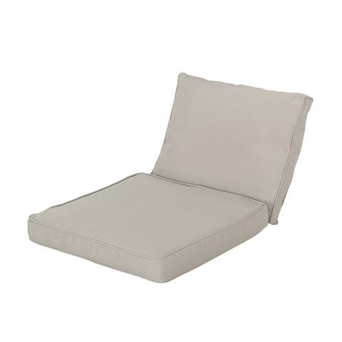 Honolulu Outdoor Weather-Resistant Cushions for Deep Seating Club Chairs by Christopher Knight Home