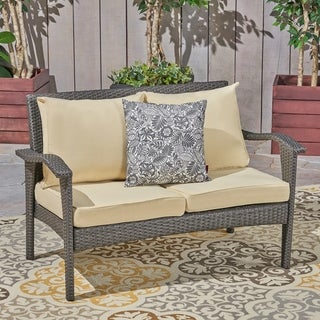 Honolulu Outdoor Weather-Resistant Cushions for Deep Seating Loveseat by Christopher Knight Home