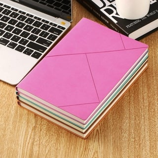 Premium Soft PU Leather A5 Portable Notebook Writing Journal Business Notepad