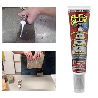 Flex Glue Strong Rubberized Waterproof Adhesive with Instant Grab Pro Formula - MultiColor