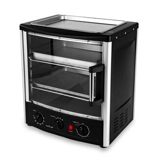NutriChef Multi-Function 1600W BBQ Oven w/ Rotisserie & Roast Ability