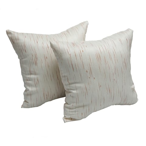 Aspen Cafe 17-inch Accent Throw Pillow (Set of 2)