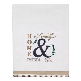 Modern Farmhouse Bath Towel