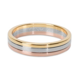 Pre-Owned Cartier Trinity Band in 18KT Tri Colored Gold