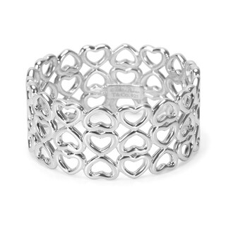 Pre-Owned Tiffany & Co. Paloma Picasso Heart Ring in Sterling Silver
