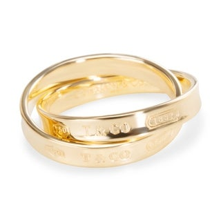 Pre-Owned Tiffany & Co. 1837 Interlocking Circles Ring in 18KT Yellow Gold