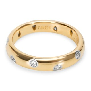 Pre-Owned Tiffany & Co. Etoile Ring in 18K Yellow Gold (0.22 CTW)