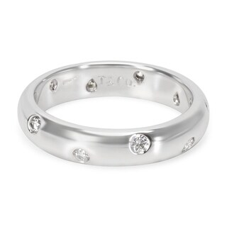 Pre-Owned Vintage Tiffany & Co. Etoile Diamond Band in Platinum 0.25 Carats