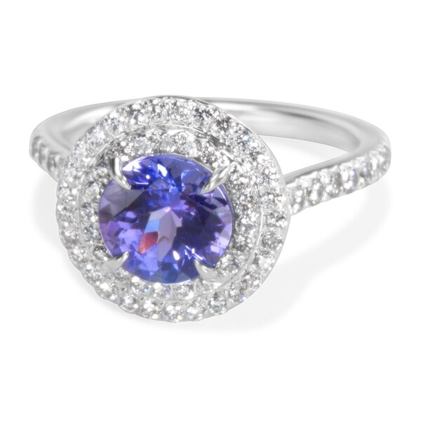 d5739a513 Pre-Owned Tiffany & Co. Soleste Tanzanite Engagement Ring in Platinum  1.75 ctw. Click to Zoom