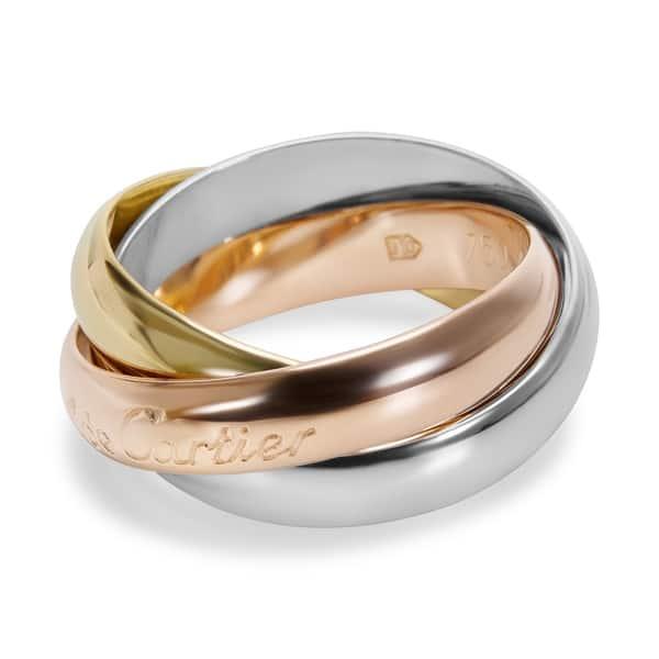 cartier trinity ring price list