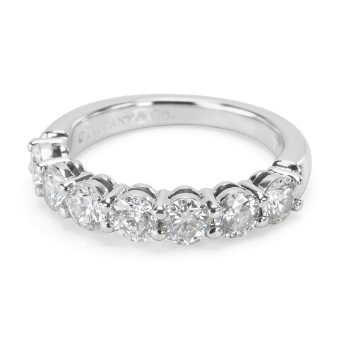 Pre-Owned Tiffany & Co. Embrace Diamond Wedding Band in Platinum (0.91 CTW)