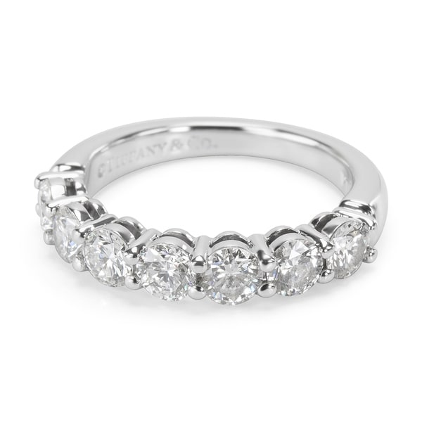 e73afe104 Pre-Owned Tiffany & Co. Embrace Diamond Wedding Band in Platinum (0.91